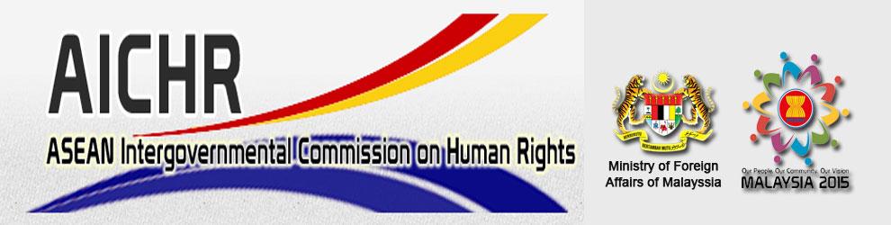 laman web Suruhanjaya Antara Kerajaan ASEAN Mengenai Hak Asasi Manusia (AICHR) Malaysia