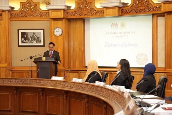 Opening Ceremony Of Diploma In Diplomacy 2016