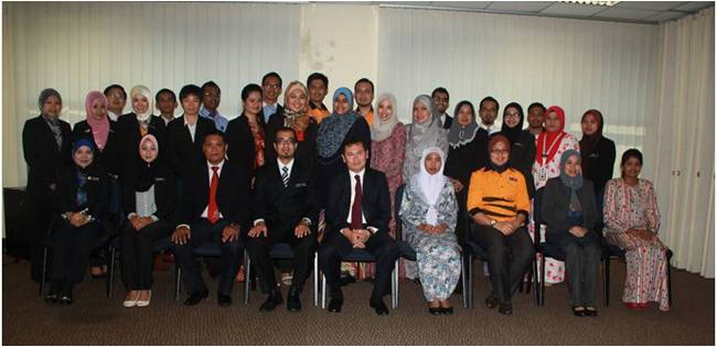 Workshop on Etiquette, Protocol and Event Management for Ministry of Youth and Sports, Malaysia