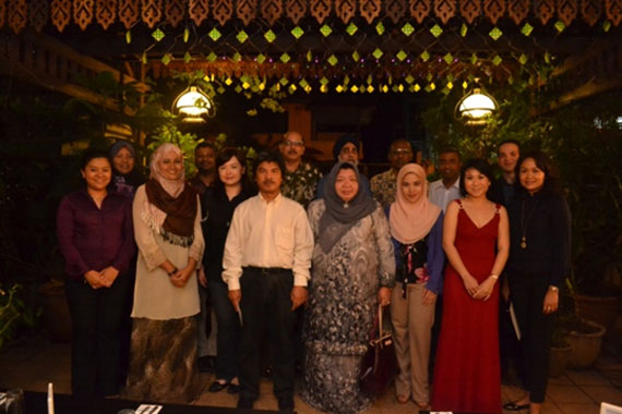 Farewell Dinner for Masters' Students for Session 2013/2014