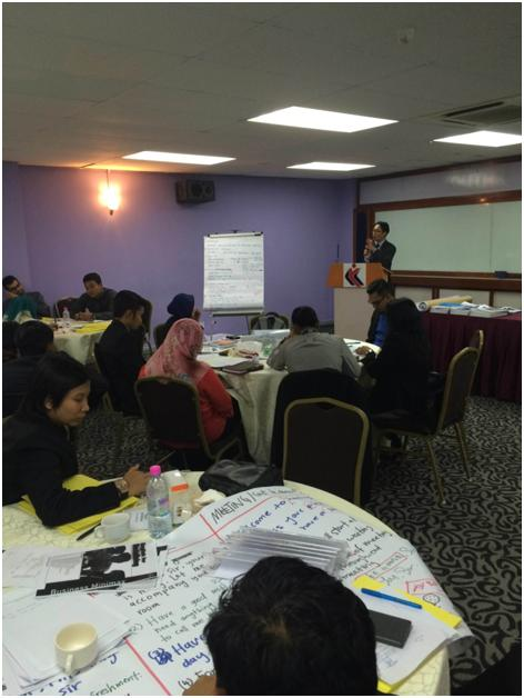 ASEAN 2015 Workshop for Liaison Officers for Ministry of Youth and Sports, Malaysia