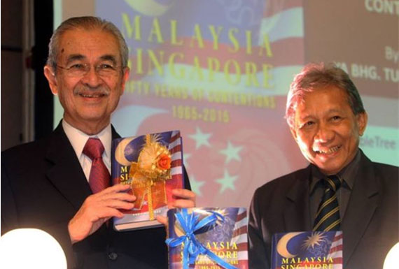 Book Launch: Malaysia-Singapore Fifty Years of Contentions 1965–2015 by Tan Sri Ab. Kadir Mohamad