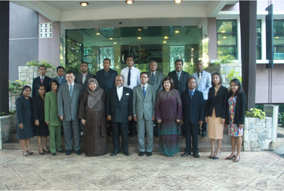 MTCP: Diplomatic Training Course for Senior Officials from The Government of Timor-Leste